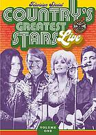 Country's greatest stars live. Volume one