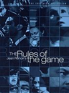 La règle du jeu The rules of the game