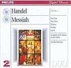 Messiah. arias and choruses