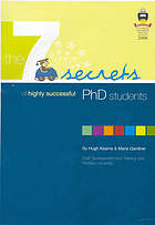 The 7 secrets of highly successful PhD students