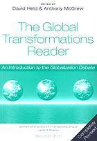 The global transformations reader : an introduction to the globalization debate