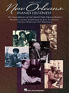 New Orleans piano legends : piano solo
