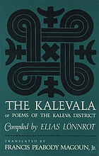 The Kalevala; or, Poems of the Kaleva District