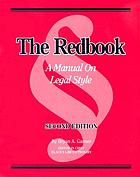 The redbook : a manual on legal style