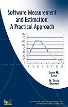 Software measurement and estimation : a practical approach