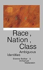 Race, nation, class : ambiguous identities