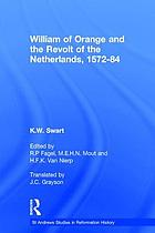 William of Orange and the revolt of the Netherlands, 1572-84