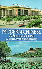 Modern Chinese : a basic course