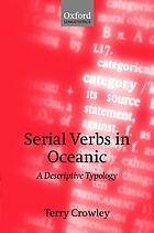 Serial verbs in oceanic : a descriptive typology