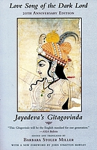 Love song of the dark lord : Jayadeva's Gitagovinda