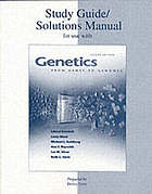 Solutions manual-study guide to accompany Genetics : from genes to genomes