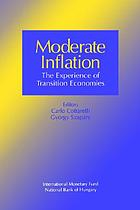 Moderate inflation : the experience of transition economies