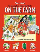 The amazing giant book of first words : on the farm