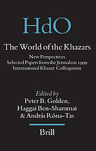 The world of the Khazars : new perspectives