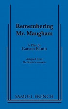 Remembering Mr. Maugham