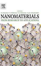 Nanomaterials : from research to applications Nanomaterials : from research to applications