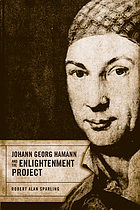 Johann Georg Hamann and the Enlightenment project