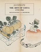 The arts of China after 1620