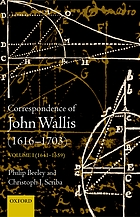 The correspondence of John Wallis