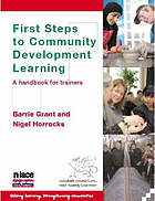First steps to community development learning : a handbook for trainers