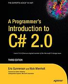A programmer's introduction to C♯ 2.0