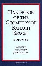 Handbook of the geometry of Banach spaces