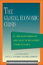 The global economic crisis : a report to the Trilateral Commission