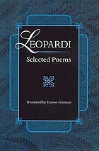 Leopardi : selected poems