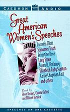 Great American women's speeches