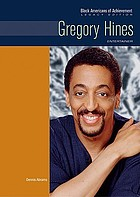 Gregory Hines : entertainer