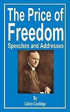 The price of freedom; speeches and addresses