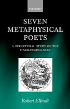 Seven metaphysical poets : a structural study of the unchanging self