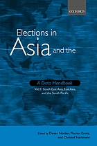 Elections in Asia and the Pacific : a data handbook