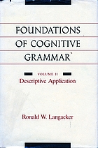 Foundations of cognitive grammar