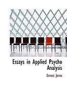 Essays in applied psycho-analysis