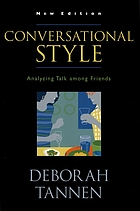 Conversational style : analyzing talk among friends