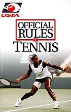 Official rules of tennis : USTA