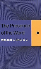 The presence of the word : some prolegomena for cultural and religious history
