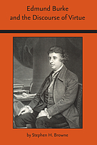 Edmund Burke and the discourse of virtue