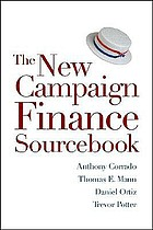New campaign finance reform sourcebook