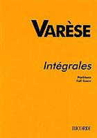 Intégrales : for 11 wind instruments and percussion