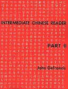 Intermediate Chinese reader