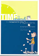 Time for research : time management for PhD students