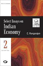 Select essays on Indian economy