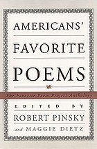 Americans' favorite poems : the Favorite Poem Project anthology