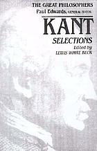 Kant : selections