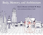 Body, memory, and architecture