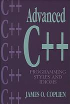 Advanced C₊₊ programming styles and idiomsAdvanced Cb++s programming styles and idioms