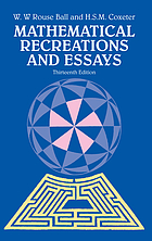 Mathematical recreations & essays