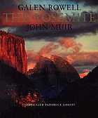 The Yosemite : the original John Muir text